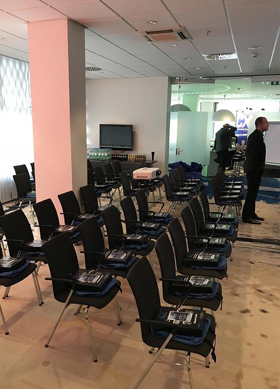 Bequeme Stühle bei Fortbildung Abrechnung und Praxismanagement für Ihre Zahnarztpraxis